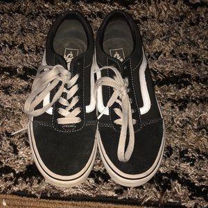 Vans Original Classic Black and White Shoes